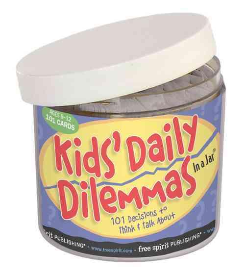 Kids' Daily Dilemmas in a Jar By Free Spirit Publishing (COR)